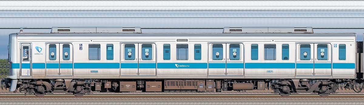 小田急1000形クハ1754山側の側面写真
