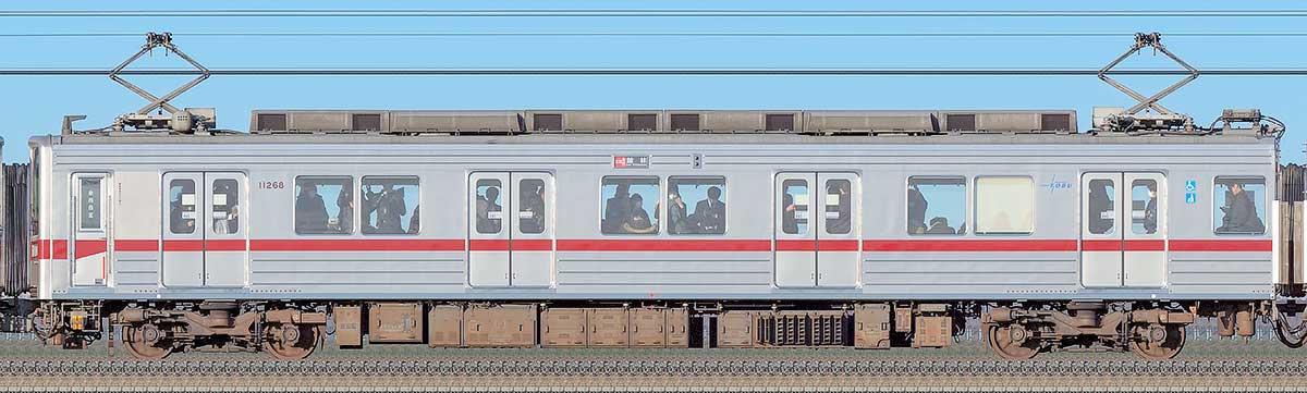東武10030型モハ11268海側の側面写真