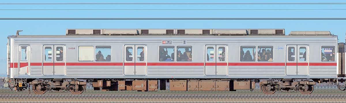 東武10030型クハ11459海側の側面写真