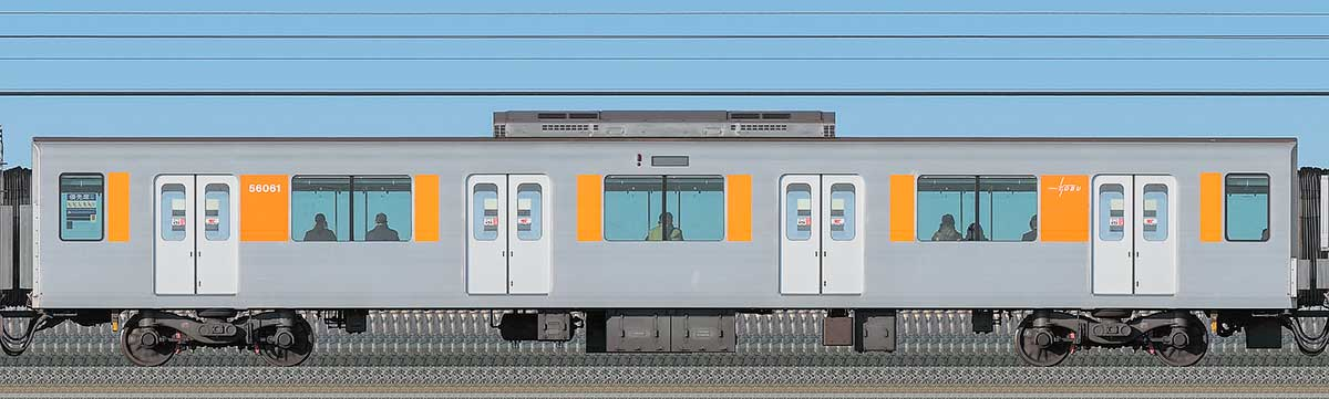 東武50050型サハ56061海側の側面写真