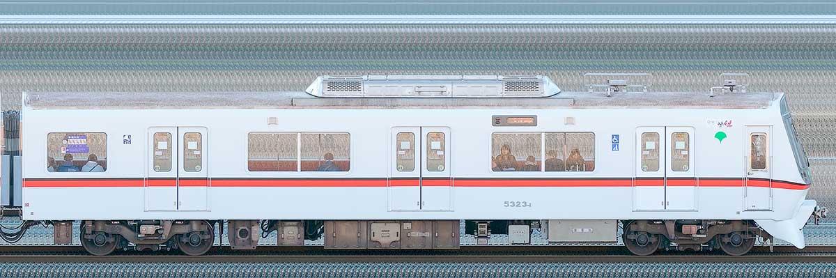 東京都交通局 浅草線 5300形5323-1山側の側面写真