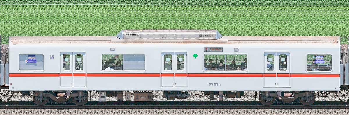 東京都交通局 浅草線 5300形5323-4海側の側面写真