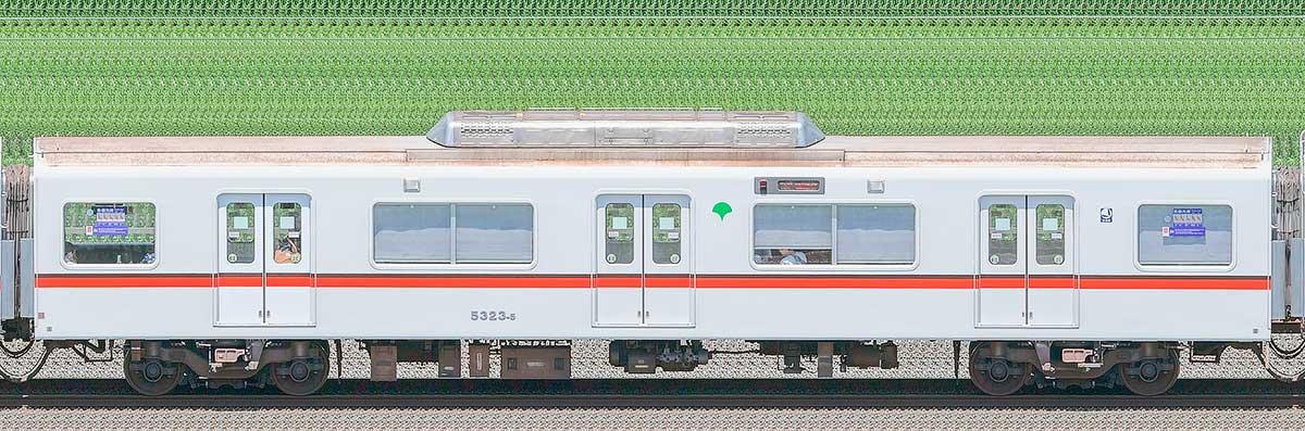 東京都交通局 浅草線 5300形5323-5海側の側面写真
