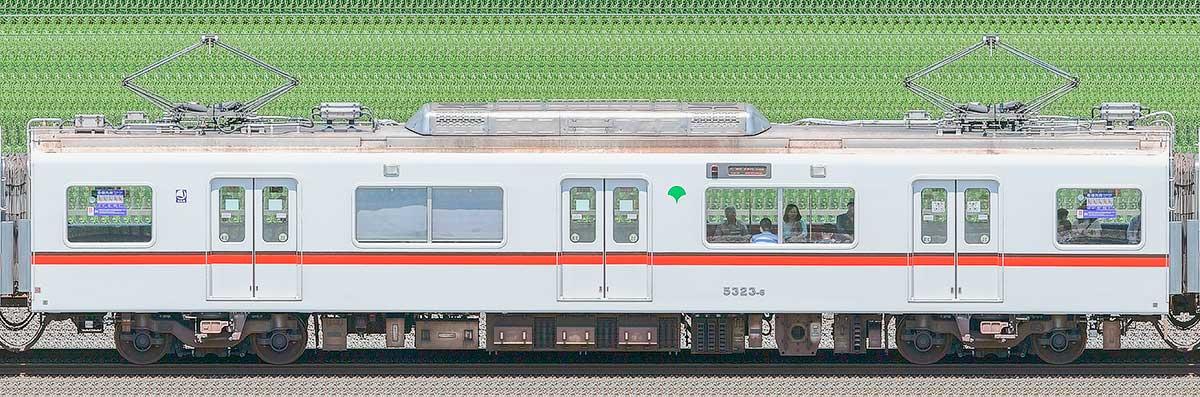 東京都交通局 浅草線 5300形5323-6海側の側面写真