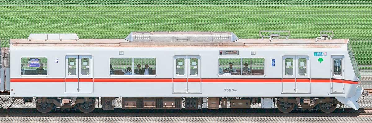 東京都交通局 浅草線 5300形5323-8海側の側面写真