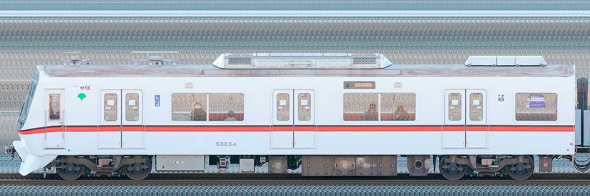 東京都交通局 浅草線 5300形5323-8山側の側面写真