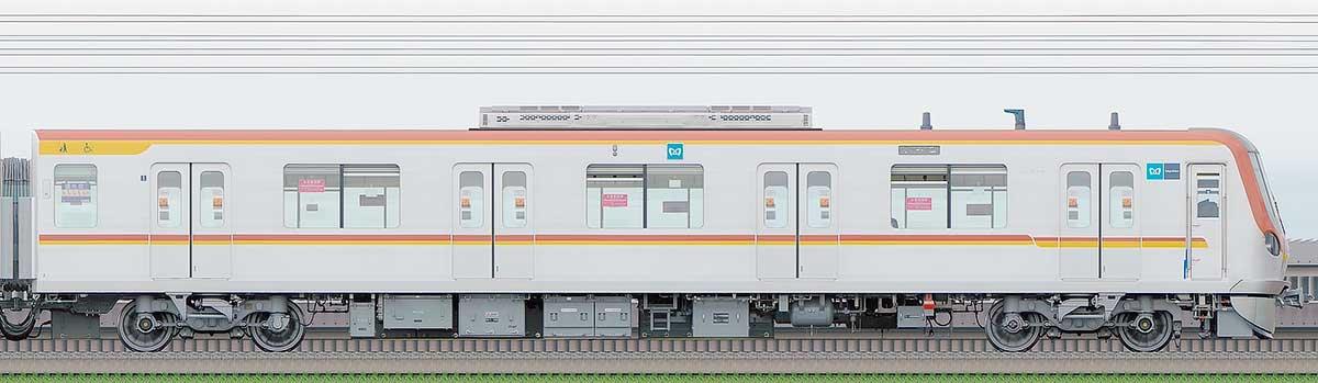 東京メトロ17000系170032側の側面写真