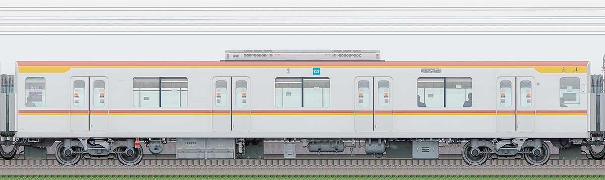 東京メトロ17000系173032側の側面写真