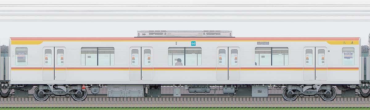 東京メトロ17000系178032側の側面写真