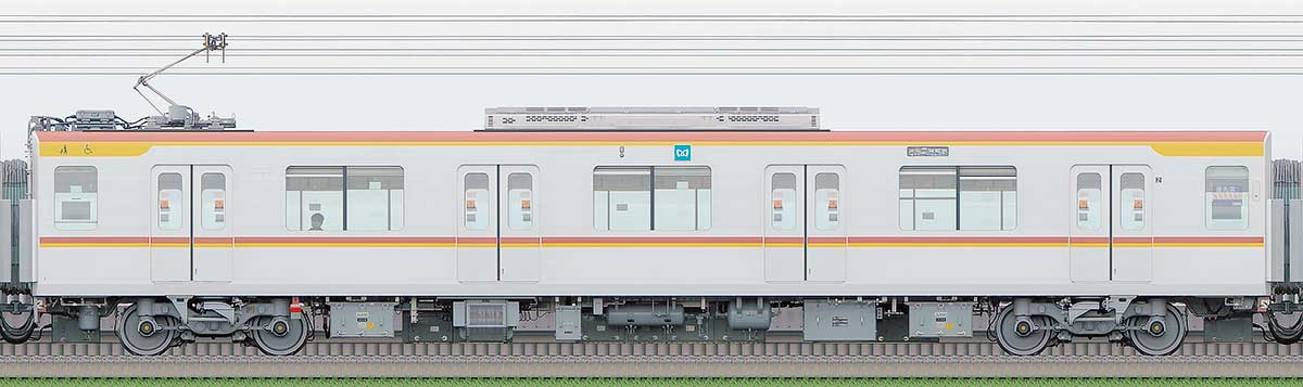 東京メトロ17000系179032側の側面写真