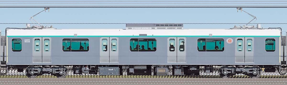 東急2020系デハ2938山側の側面写真