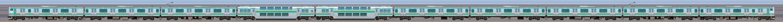 JR東日本 国府津車両センター E231系K-01編成(海側)の編成サイドビュー