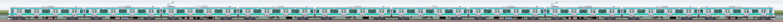 JR東日本 常磐快速線 E231系マト114編成(海側)の編成サイドビュー