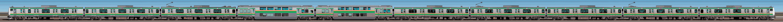 JR東日本 小山車両センター E233系U630編成(海側)の編成サイドビュー