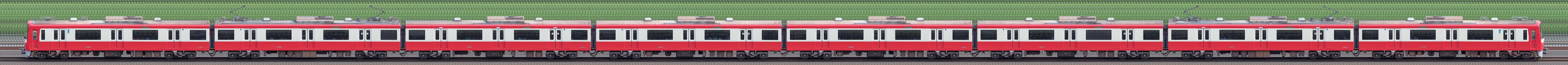 京急電鉄 新1000形(5次車)1065編成(海側)の編成サイドビュー