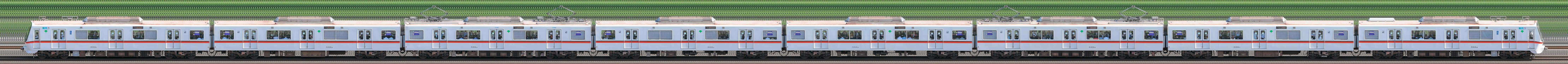東京都交通局 浅草線 5300形5310編成(海側)の編成サイドビュー