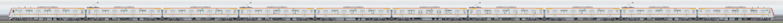 東京メトロ17000系17103編成(和光検車区第23編成/2側)の編成サイドビュー