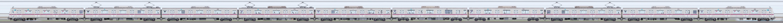 東京メトロ8000系8105編成(鷺沼検車区第05編成/山側)の編成サイドビュー