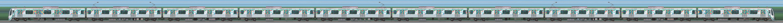 東急電鉄2020系2130編成「SDGsトレイン 美しい時代へ号」(海側)の編成サイドビュー