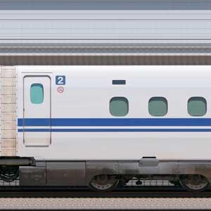 JR東海N700S確認試験車747-9001
