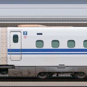 JR東海N700S確認試験車747-9401