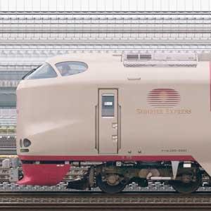 JR東海285系特急形寝台電車
