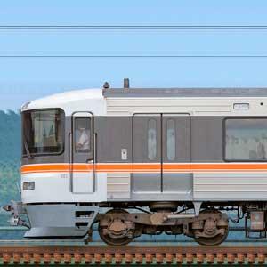 JR東海373系静岡車両区F5編成(海側)