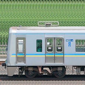 千葉ニュータウン鉄道9200形9201編成(海側)