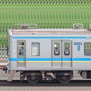 千葉ニュータウン鉄道9800形9808編成(海側)