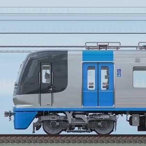 千葉ニュータウン鉄道9100形「C-Flyer」9128編成(海側)