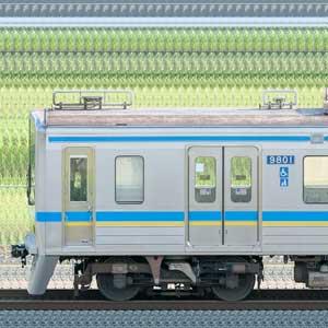 千葉ニュータウン鉄道9800形9808編成(山側)