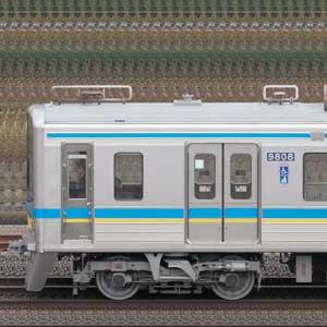 千葉ニュータウン鉄道9800形9808編成(集電装置交換後・海側)