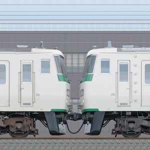 JR東日本大宮総合車両センター185系A1編成+C6編成(海側)