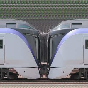 JR東日本 中央東線 E353系S207編成+S101編成(山側)