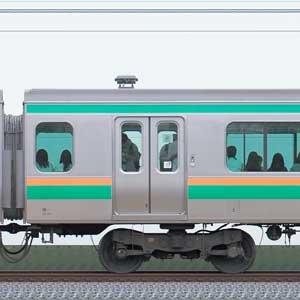 JR東日本E231系サハE231-1081