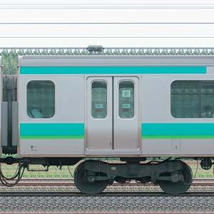 JR東日本E231系サハE231-145(線路設備モニタリング装置搭載車)