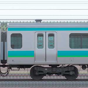 JR東日本E231系サハE231-63(線路設備モニタリング装置対応車)
