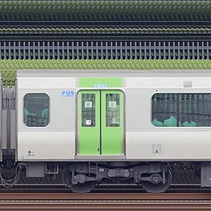 JR東日本E235系サハE235-30(線路設備モニタリング装置対応車)