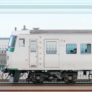 JR東日本大宮総合車両センター185系A6編成(山側)