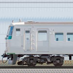 JR東日本大宮総合車両センター185系OM09編成(山側)