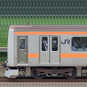 JR東日本 中央快速線 209系81編成(海側)