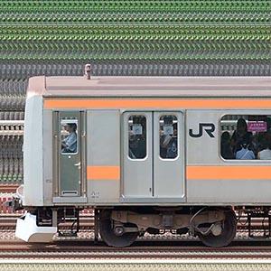JR東日本 中央快速線 209系81編成(山側)