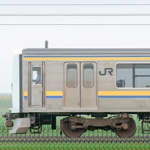 JR東日本 幕張車両センター 209系2100番台C607編成(海側)