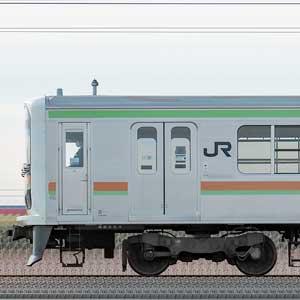 JR東日本 八高・川越線 209系3100番台 川71編成(海側)