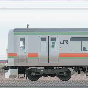 JR東日本 八高・川越線 209系3500番台 川52編成(海側)