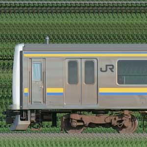 JR東日本 幕張車両センター 209系2100番台C607編成(山側)