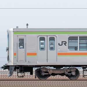 JR東日本 八高・川越線 209系3100番台 川71編成(山側)