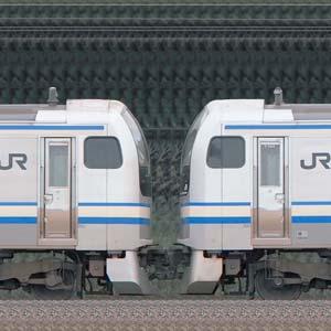 JR東日本 横須賀線・総武快速線 E217系Y-47編成+Y-144編成(山側)
