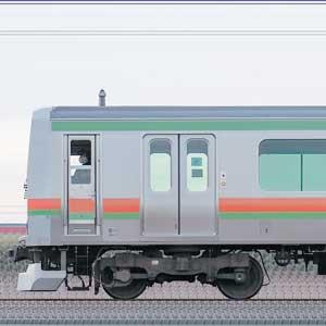 JR東日本 八高・川越線 E231系3000番台 川42編成(海側)