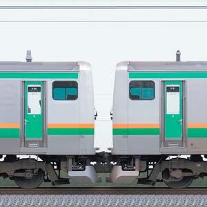 JR東日本 国府津車両センター E231系S-34編成+K-21編成(山側)